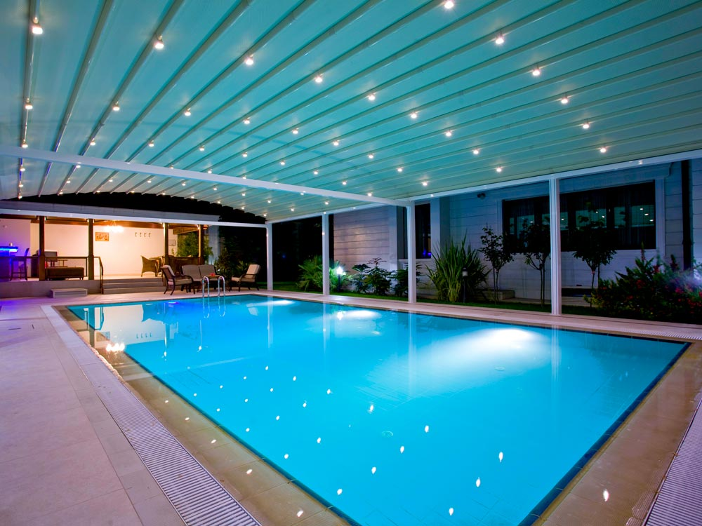 Swimming Pool Roof Systems Thailand